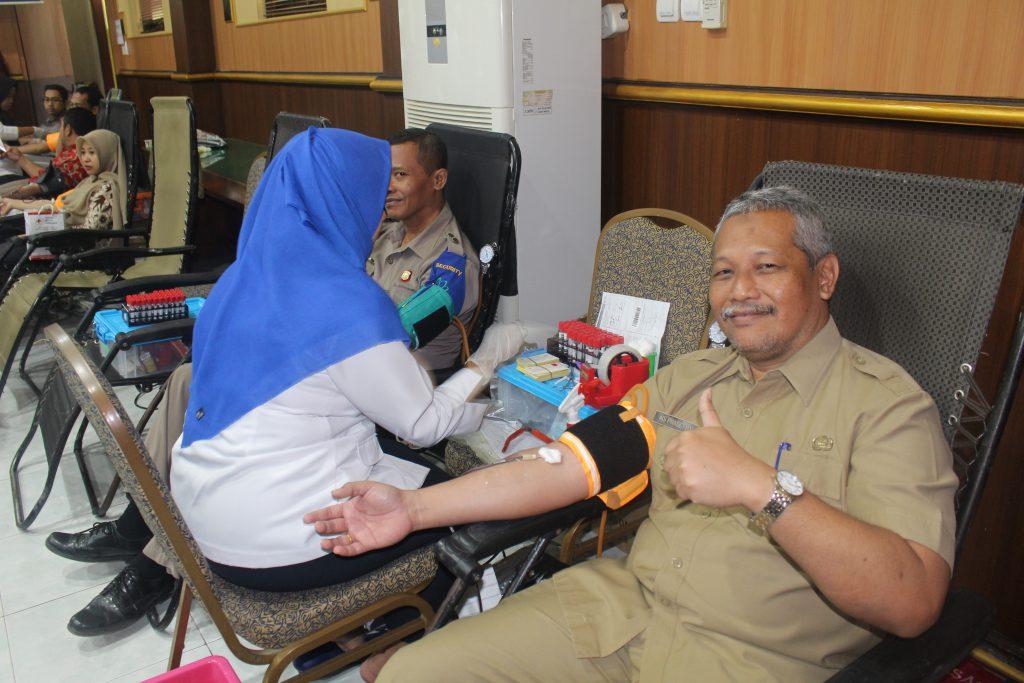 RSUD Kabupaten Jombang Rutin Gelar Donor Darah Dharma Wanita,Karyawan dan Pengunjung